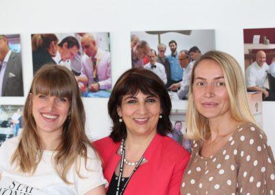 Anne Monnier mit Teilnehmern Georgien